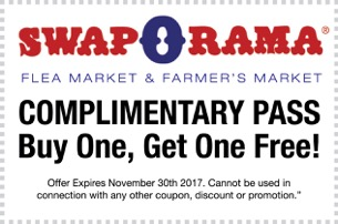 Swap-O-Rama Coupons