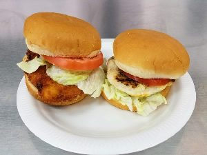 Grilled or Fried Chicken Sandwiches