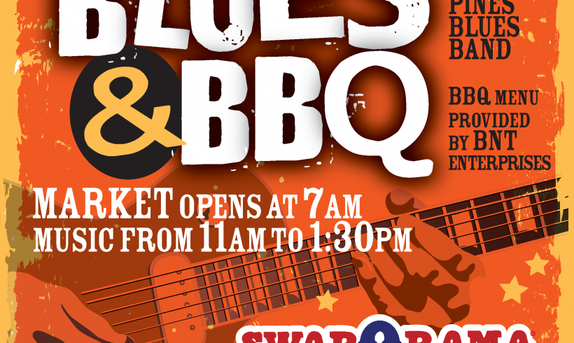 Delta Pines Blues Band Coming to Swap-O-Rama Sept 9th! Blues & BBQ and Family Fun!
